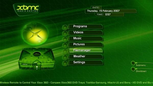 Xbox Classic XBMC
