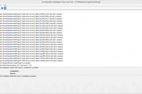 Logviewer Trace32/CMtrace