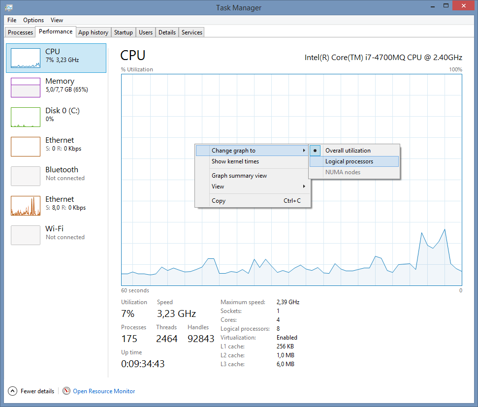 how to show cpu temp on taskbar