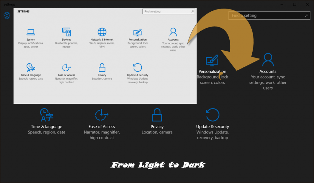 Windows 10 Darktheme