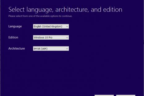 Make Windows 10 ISO / Bootable USB.