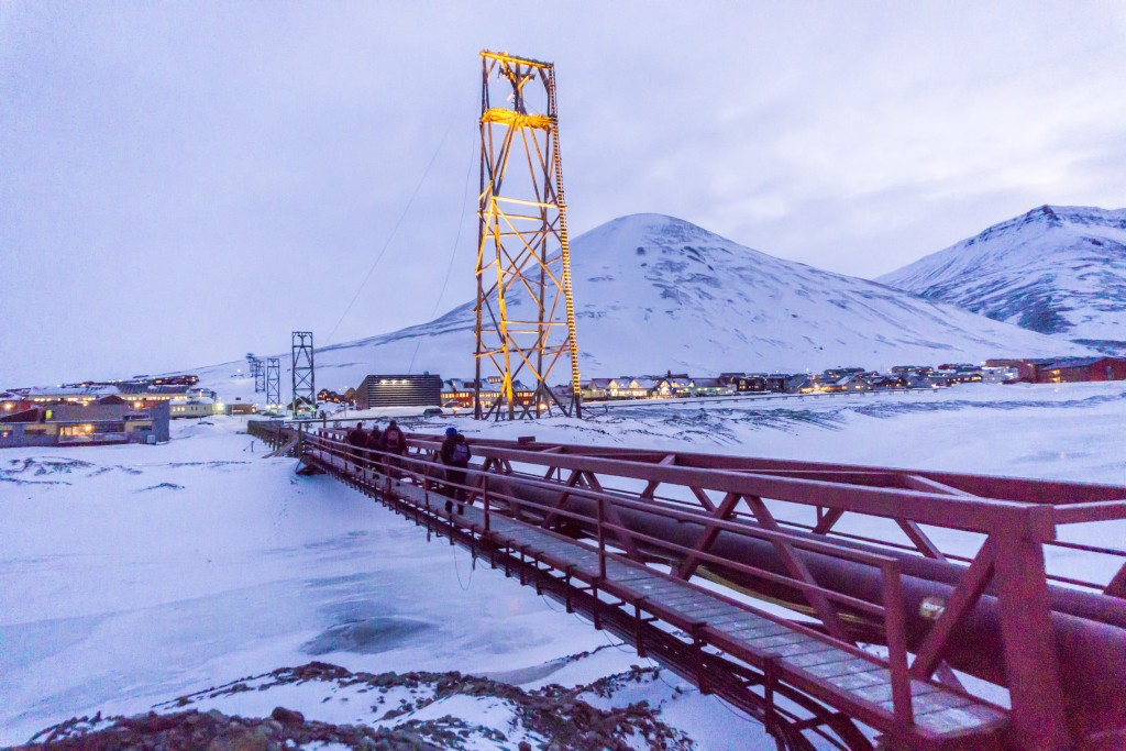 Bridge Longyearbyen