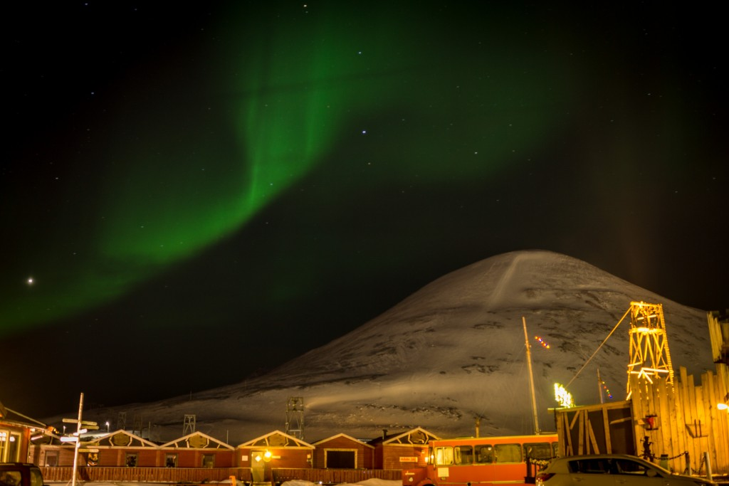 Svalbard Northern light