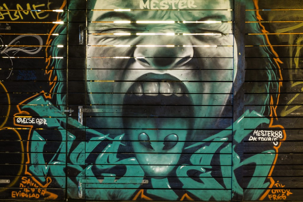 Graffiti Godsbanen Aarhus
