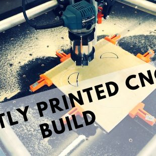 Mostly Printed CNC(MPCNC) Project
